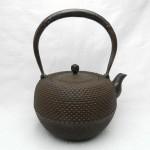 江戸鉄瓶鉄鉢形霰紋1.3L
