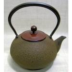 南部鉄瓶 梅丸子(錆色) 1.2L 銅蓋